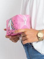Różowa duża torba z jednorożcem                                  zdj.                                  5