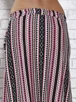 Różowa spódnica maxi w azteckie wzory                                  zdj.                                  7