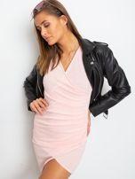 Różowa sukienka Siesta                                  zdj.                                  3