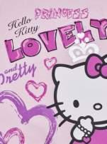 Różowa sukienka dla dziewczynki HELLO KITTY                                  zdj.                                  6