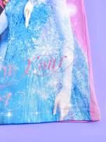 Różowa sukienka dla dziewczynki bez rękawów KRAINA LODU                                                                          zdj.                                                                         5
