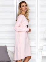Różowa sukienka z gwiazdą                                   zdj.                                  3
