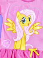 Różowa tunika dla dziewczynki MY LITTLE PONY z kokardką