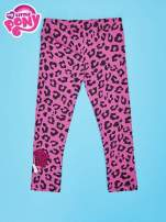 Różowe legginsy dla dziewczynki nadruk MY LITTLE PONY                                  zdj.                                  2
