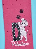 Różowe legginsy w kropki dla dziewczynki 101 DALMATYŃCZYKÓW                                  zdj.                                  6