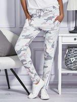 Różowe spodnie dresowe moro                                  zdj.                                  1