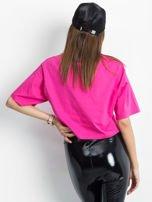 Różowy krótki t-shirt                                   zdj.                                  2