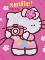 Różowy t-shirt dla dziewczynki bez rękawów HELLO KITTY                                                                          zdj.                                                                         5