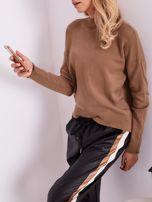 Czarne skórzane spodnie                                  zdj.                                  6
