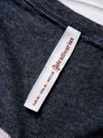 STRADIVARIUS Różowy t-shirt z nadrukiem UPPER EAST SIDE                                                                          zdj.                                                                         3