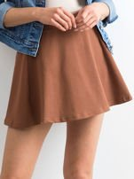 Spódnica rozkloszowana brązowa                                  zdj.                                  1