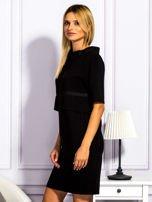 Sukienka damska z kieszeniami czarna                                  zdj.                                  3