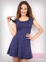 Sukienka w kropki                                  zdj.                                  1