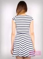 Sukienka w paski                                  zdj.                                  2