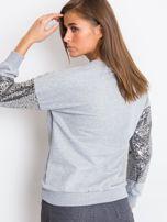 Szara bluza Mirror                                  zdj.                                  2
