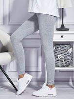Szare legginsy basic                                  zdj.                                  5