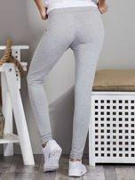 Szare legginsy z szerokim pasem                                  zdj.                                  2