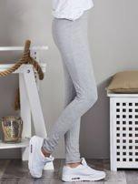 Szare legginsy z szerokim pasem                                  zdj.                                  5