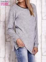 Szary melanżowy sweter                                   zdj.                                  3