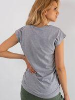 Szary t-shirt Perfectly                                  zdj.                                  2