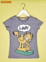 Szary t-shirt chłopięcy GARFIELD                                  zdj.                                  1