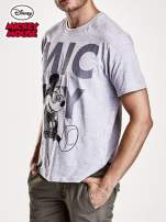 Szary t-shirt męski MICKEY MOUSE                                                                           zdj.                                                                         3