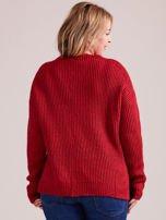 TOM TAILOR Szary wełniany sweter o grubszym splocie                                                                          zdj.                                                                         4