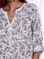 TOM TAILOR Jasnoróżowa koszula z podwijanymi rękawami wzór paisley                                  zdj.                                  6