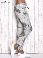 TOM TAILOR Spodnie damskie floral print                                  zdj.                                  3