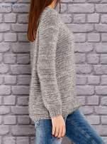 TOM TAILOR Szary melanżowy sweter fluffy                                  zdj.                                  2