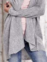 TOM TAILOR Szary wełniany sweter oversize                                  zdj.                                  5