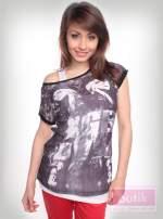 Tunika z modnym nadrukiem                                  zdj.                                  2