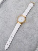 Zegarek damski biały                                  zdj.                                  3