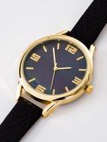Zegarek damski czarny z perłową tarczą                                  zdj.                                  2