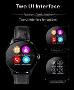 Zegarek smartwatch K88H brązowy Pulsometr Wodoodporny Siri                                  zdj.                                  15