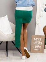 Zielona asymetryczna spódnica                                  zdj.                                  2