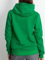 Zielona bluza z asymetrycznym zapięciem                                  zdj.                                  2