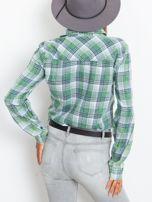 Zielona koszula w kratę                                  zdj.                                  2