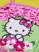 Zielony strój kąpielowy dla dziewczynki HELLO KITTY                                  zdj.                                  5