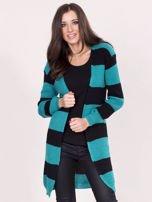 Zielony sweter w pasy                                  zdj.                                  1