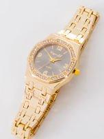 Złoty zegarek damski na bransolecie                                  zdj.                                  3