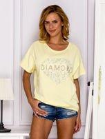 Żółta bluzka DIAMOND                                  zdj.                                  1