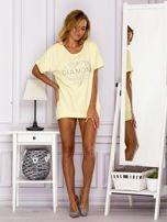 Żółta bluzka DIAMOND                                  zdj.                                  4