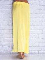 Żółta długa spódnica maxi                                  zdj.                                  2