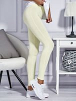 Żółte legginsy basic                                  zdj.                                  3