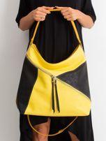 Żółto-czarna miejska torba                                  zdj.                                  2