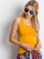 Żółty top basic                                  zdj.                                  1